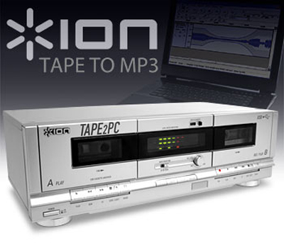 ion usb cassette deck convert tape to mp3 faster. Black Bedroom Furniture Sets. Home Design Ideas