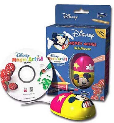 Mickey Mouse Optical KidzMouse