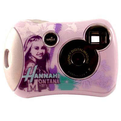 Hannah Montana Disney Pix Micro Digital Camera