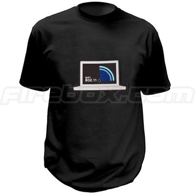 Wi-Fi Detecting T-Shirt