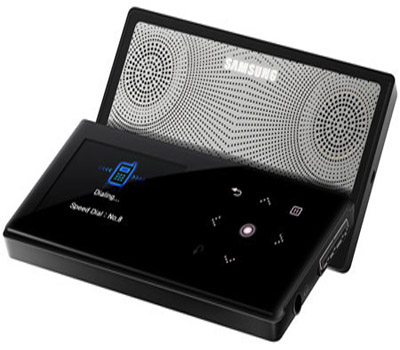 samsung yp s5 4gb bluetooth mp3 player with slide out