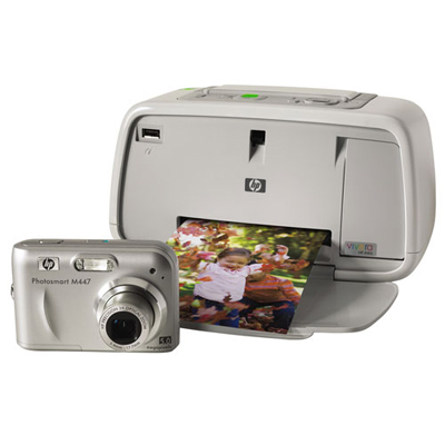 Hewlett Packard Photosmart A444 Camera and Printer