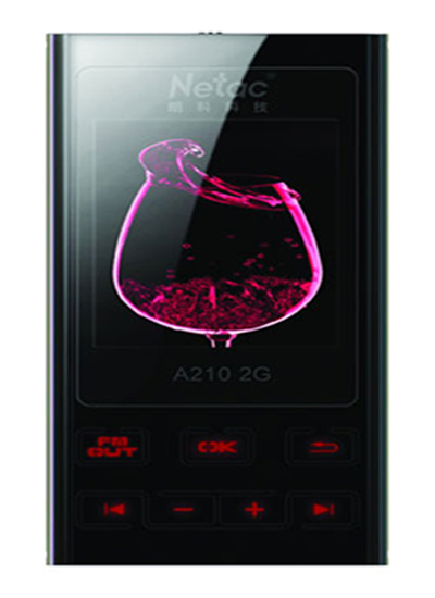Netac A210 8GB FM Transmitter MP3 Player