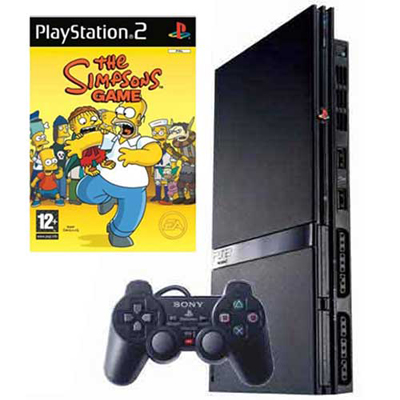 PS2 Simpsons Hardware Bundle