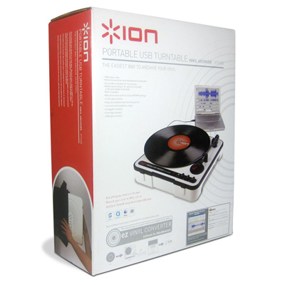 ION Portable USB Turntable