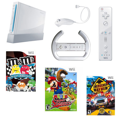 Nintendo Wii System Fall Family Bundle