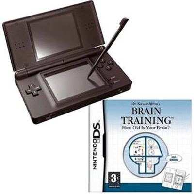 more thinner than other ds consoles the nintendo ds lite black console