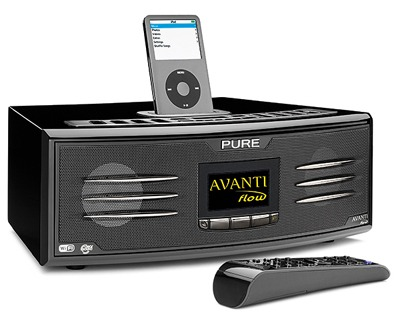 Pure AVANTI Flow Table-top Digital Music System