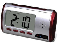 The Alarm Clock Surveillance Camera