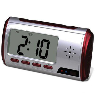 The Alarm Clock Surveillance Camera
