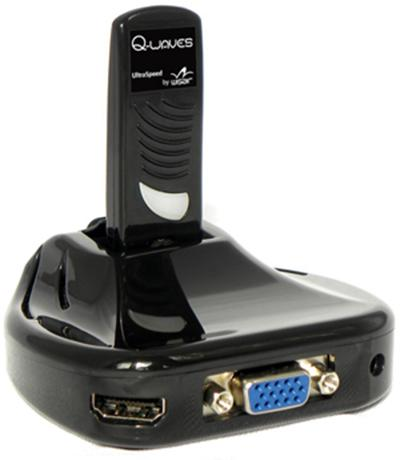 Q-Waves Wireless USB HDMI AV Kit