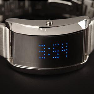 Mirror Universe LED Digital Watch