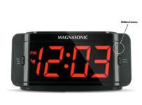 Covert Alarm Clock Hidden Spy Camera with Built-in DVR Recording