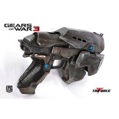 TriForce Gears of War 3 COG Snub Pistol Replica
