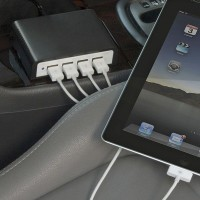 The Automobile's Four Device Charger