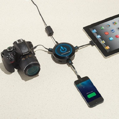 The Seven Device Charging Hub