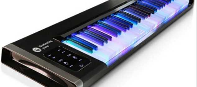 The Learn-To-Play Illuminated Keyboard