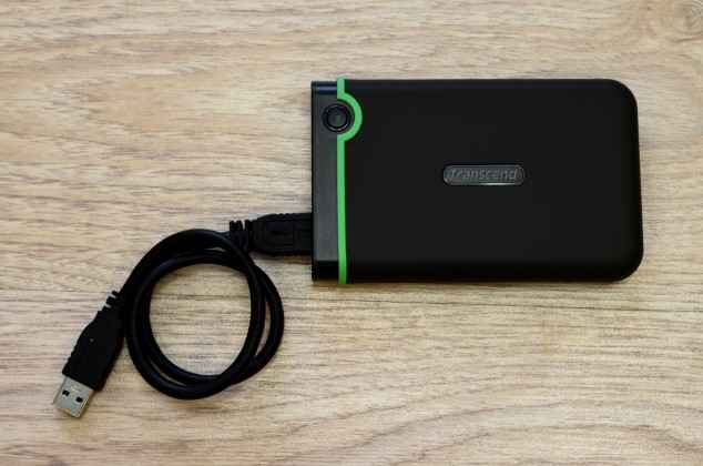 Transcend external hard drive