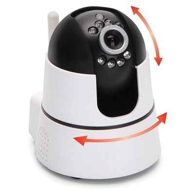 Home Security Camera System That Pans