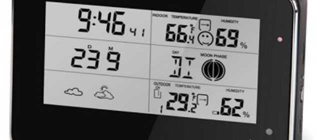 The Weather Station Security Camera