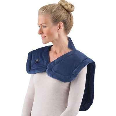The Cordless Neck and Shoulder Heat Wrap