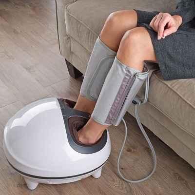 The Circulation Improving Foot and Calf Massager 1