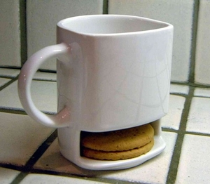 Mug with Buiscuit Holder