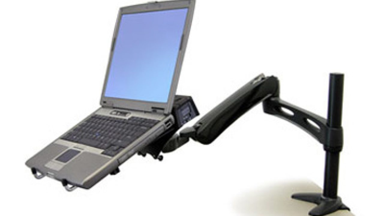 Ergotron Desk Mount U2013 Your Adjustable Notebook Arm Docking ...