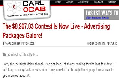 Carl's Contest
