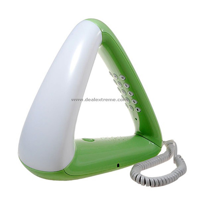 Stylish Triangular Telephone
