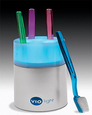 VIOlight Toothbrush Sanitizer
