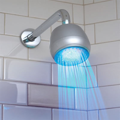 Get Bathed with LED Shower Light - Your Easy To Install Temperature ...