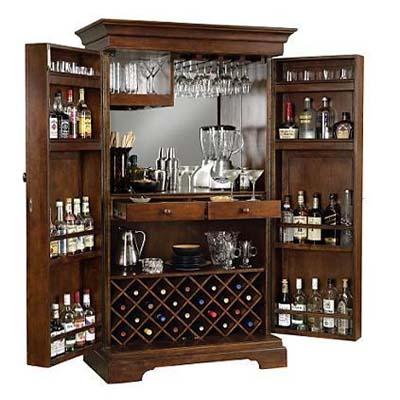 Sonoma Hide-a-Bar Cabinet