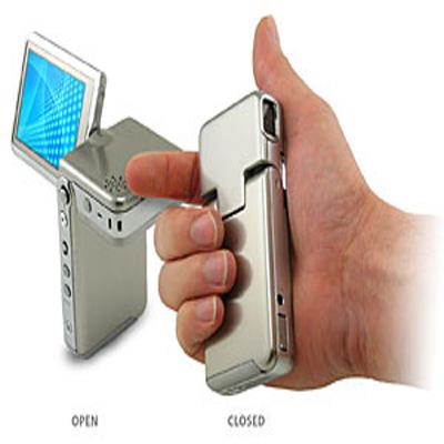 Micro Stainless Steel Digital Camcorder