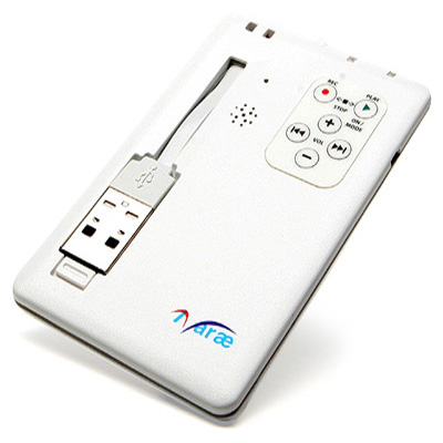 Ultra-thin Digital Voice Recorder