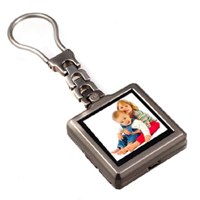 Digital Photo Album Key Ring