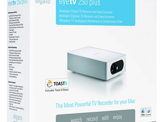 Elgato EyeTV 250 Plus Video Converter and TV Tuner – Your