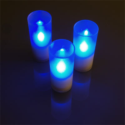 LED Inductive-Charging Candle Set
