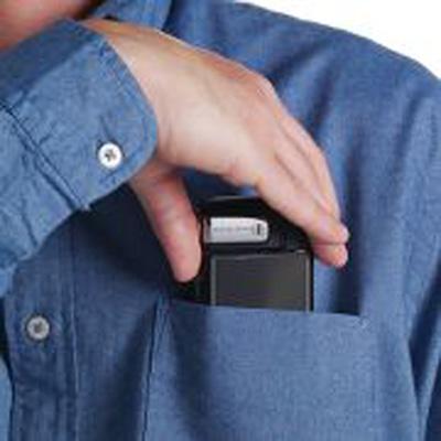 The Shirt Pocket HD Camcorder