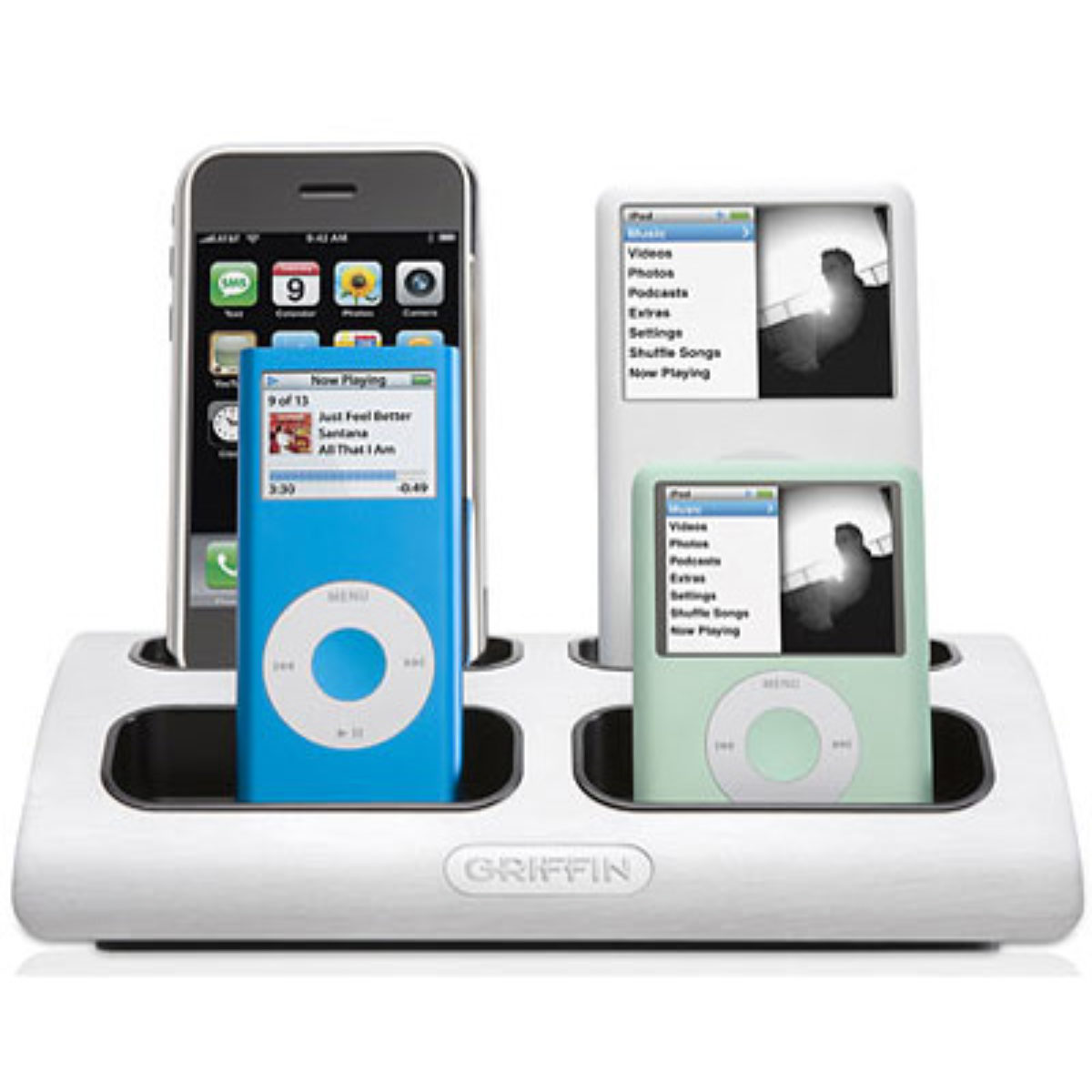 Powerdock Multiple Iphone And Ipod Charger Fits Almost Any Types Of Ipod And Iphone Models