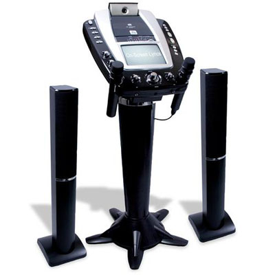 The Singing Machine Pedestal Monitor Karaoke System