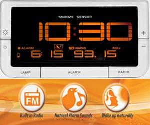 iWake-Up Sunrise Clock 2