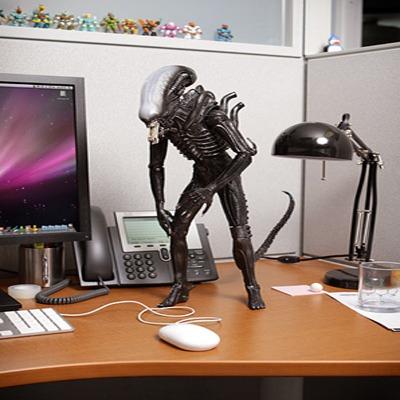 Terrifying Alien Figure