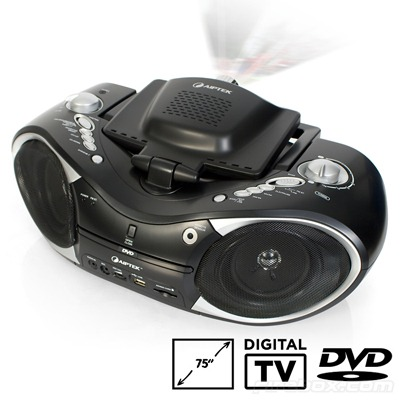 Boombox Freeview DVD Projector