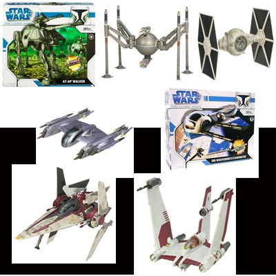 Star Wars Vehicles Collections