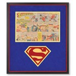 The Genuine 1940s Superman Comic Strip