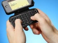 iPhone Case with Flip-out Keyboard