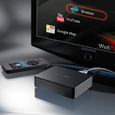 Television To Internet Converter