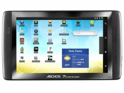 Archos 70 Internet Tablet 250GB
