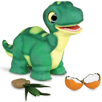 The Touch Sensitive Reacting Dinosaur